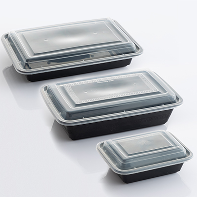 HD MICROWAVABLE Rectangular Containers